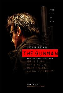 """POSTER FOR NEW SEAN PENN THRILLER """"THE GUNMAN"""" ARRIVES"""