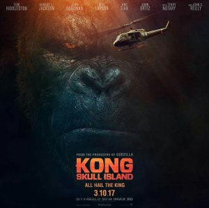 IS THAT A MONKEY? Trailer For KONG: SKULL ISLAND
