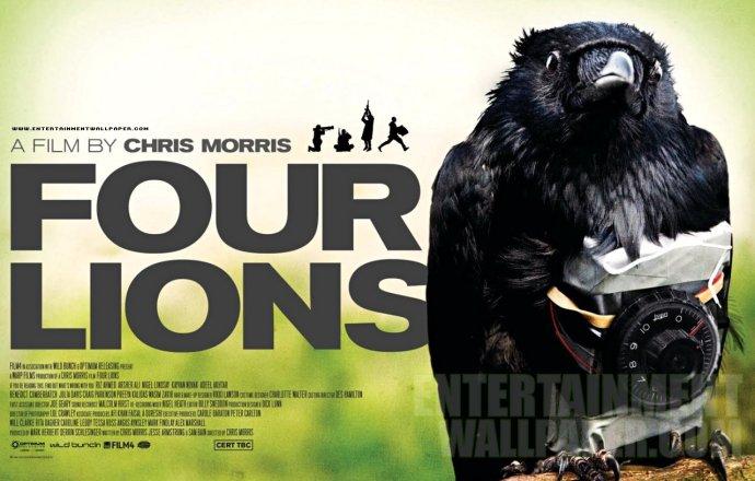 Chris Morris Four Lions Poster