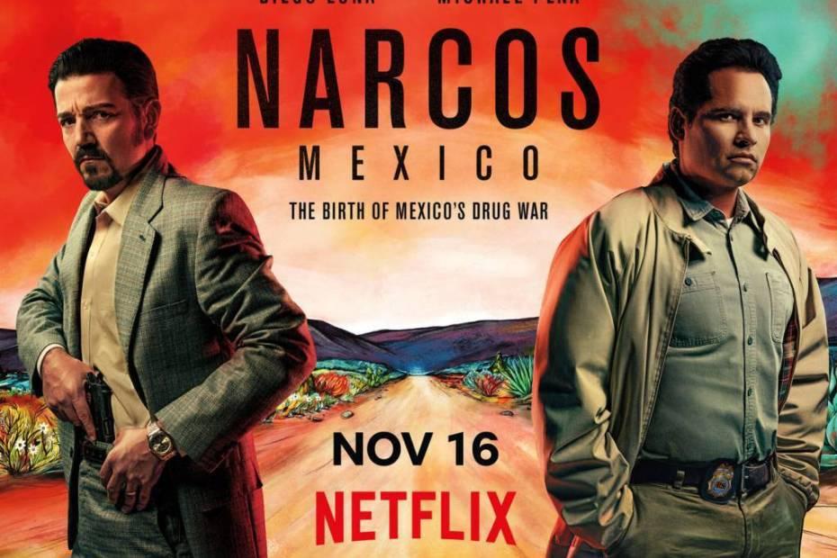 Narcos Mexico Netflix Poster