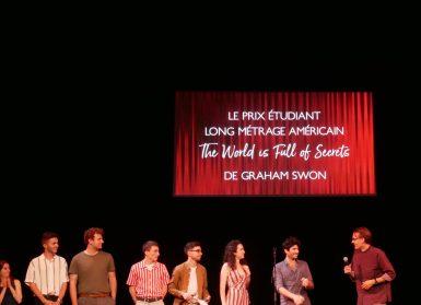 Jury étudiant Champs Élysées Film Festival