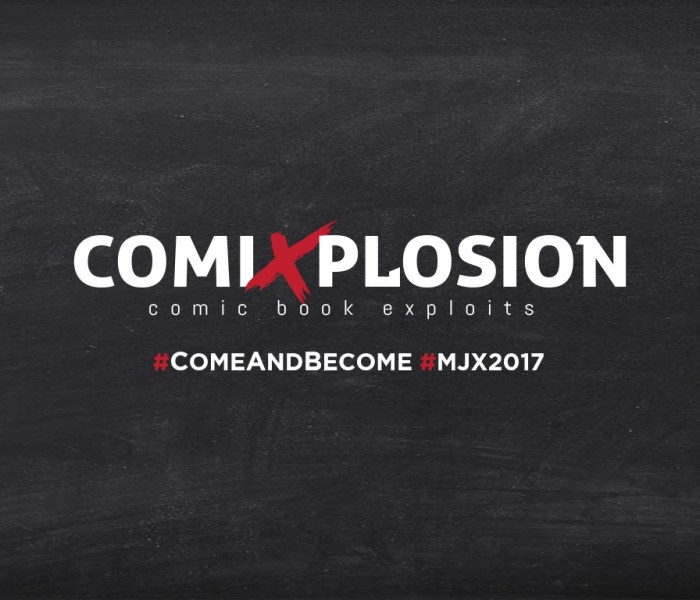 MJX | Comixplosion: Come and Pitch Your Comic Book Story!