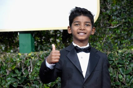 BEVERLY HILLS, CA - JANUARY 08: Actor Sunny Pawar attends the 74th Annual Golden Globe Awards at The Beverly Hilton Hotel on January 8, 2017 in Beverly Hills, California. (Photo by Frazer Harrison/Getty Images)