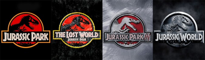 Jurassic Park franchise movie posters