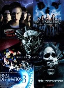 Final Destination series posters