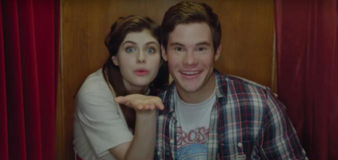 Alexandra Daddario and Adam Devine in When We First Met