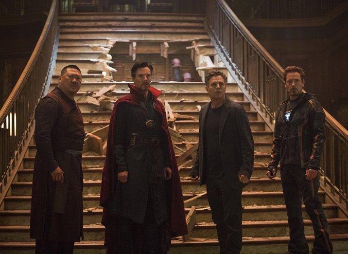 Avengers Infinity War still frame