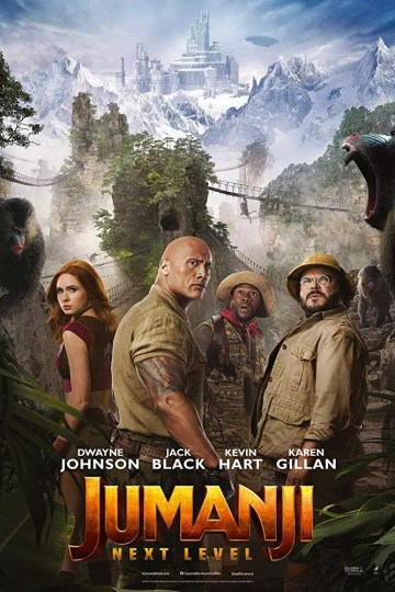 jumanji next level poster
