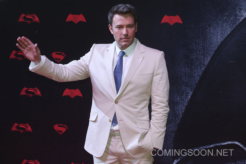 MEXICO CITY, MEXICO - MARCH 19: The actor Ben Affleck during the Batman v Superman Premiere at Auditorio Nacional on March 19, 2016 in Mexico City, Mexico. (Photo by Hector Vivas/LatinContent/Getty Images)