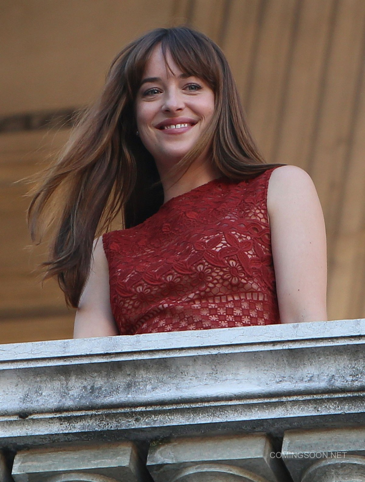 Filming on 'Fifty Shades Darker' takes place at Opera Garnier in Paris Featuring: Dakota Johnson Where: Paris, France When: 18 Jul 2016 Credit: WENN.com **Not available for publication in France, Belgium, Spain, Italy**