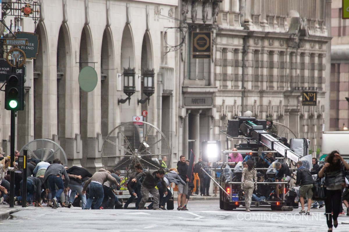 Filming of 'The Mummy' in London, England Featuring: Sofia Boutella Where: London, United Kingdom When: 10 Jul 2016 Credit: WENN.com
