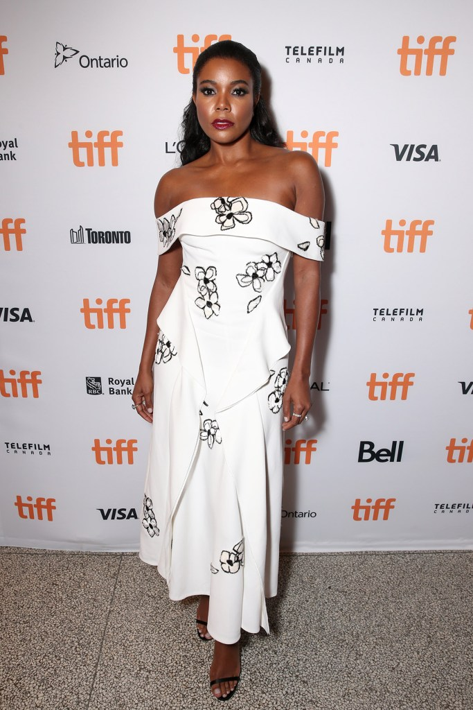 "TORONTO, ON - SEPTEMBER 09: Actress Gabrielle Union attends Fox Searchlight's ""The Birth of a Nation"" special presentation during the 2016 Toronto International Film Festival at Winter Garden Theatre on September 9, 2016 in Toronto, Canada. (Photo by Todd Williamson/Getty Images for Fox Searchlight)"