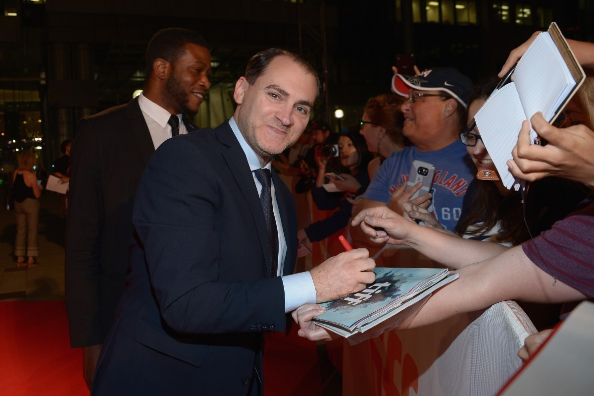 """TORONTO, ON - SEPTEMBER 12:  Actor Michael Stuhlbarg greets fans at the """"Arrival"""" premiere during the 2016 Toronto International Film Festival at Roy Thomson Hall on September 12, 2016 in Toronto, Canada.  (Photo by Alberto E. Rodriguez/Getty Images)"""