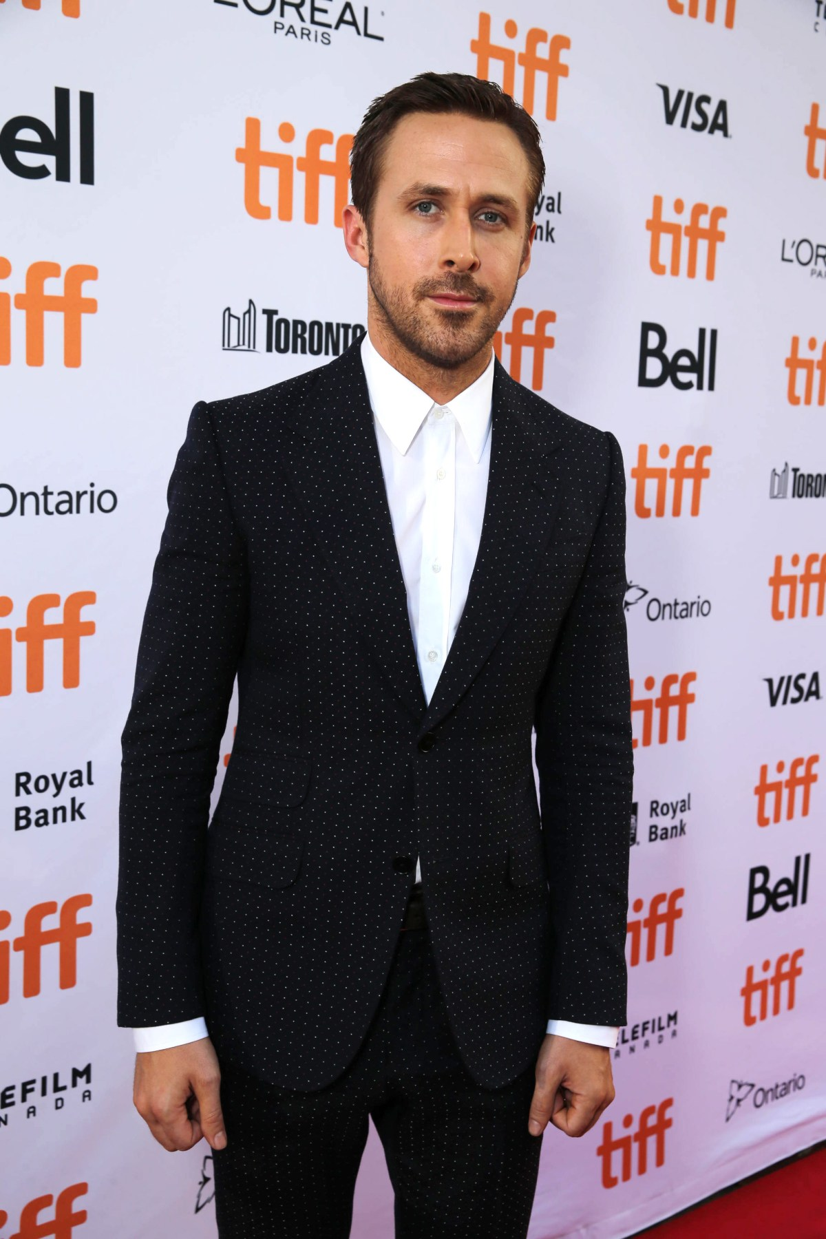 "Ryan Gosling seen at Summit Entertainment's ""La La Land"" premiere at the 2016 Toronto International Film Festival on Monday, Sept. 12, 2016, in Toronto. (Photo by Eric Charbonneau/Invision for LionsgateAP Images)"