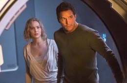 Jennifer Lawrence and Chris Pratt star in Columbia Pictures' PASSENGERS.