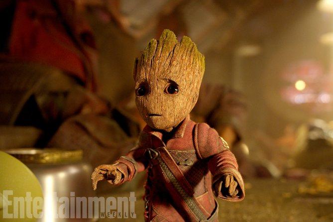 Guardians Of The Galaxy Vol. 2 (2017) Groot (Voiced by Vin Diesel) Ph: Film Frame ©Marvel Studios 2017