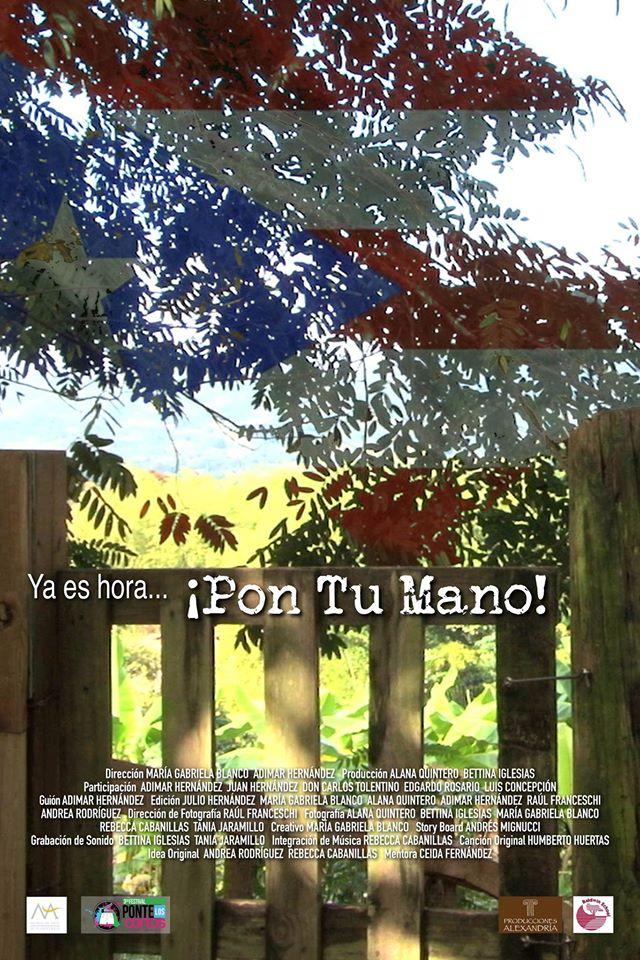 Afiche (Pon Tu Mano)