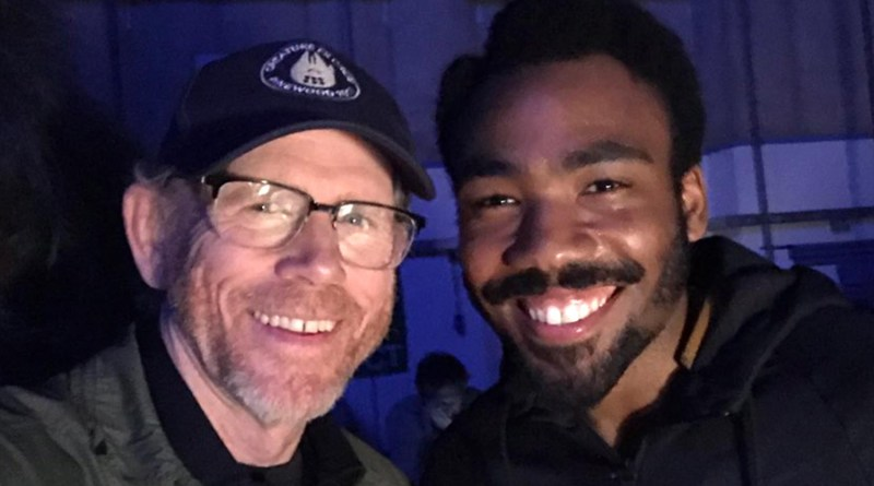 Donald Glover Teases a Never-Before-Seen Star Wars Shot in Han Solo Movie