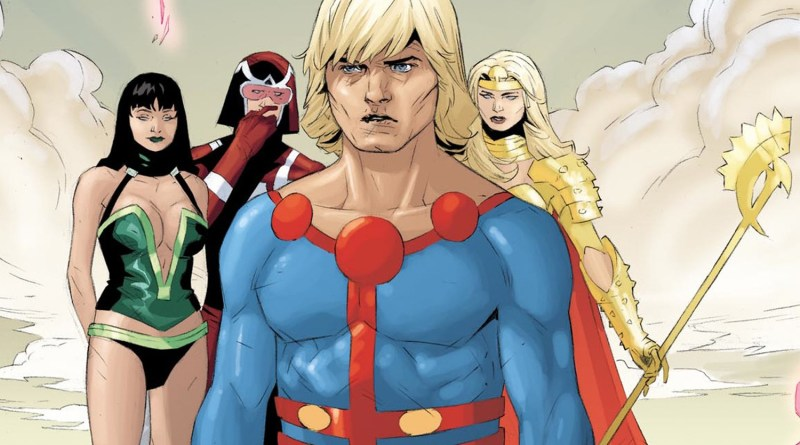 Marvel Studios Hires Writing Duo for the Eternals Movie