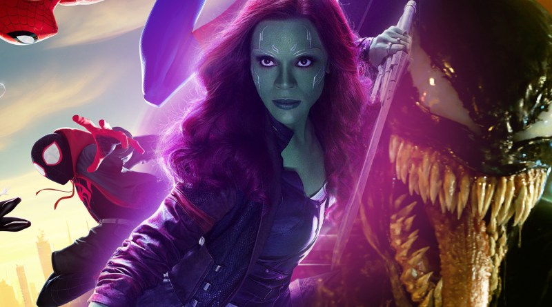 Marvel Movie Mini: Alternate Design for Gamora, Into the Spider-Verse Screenplay, Venom 2 Coming