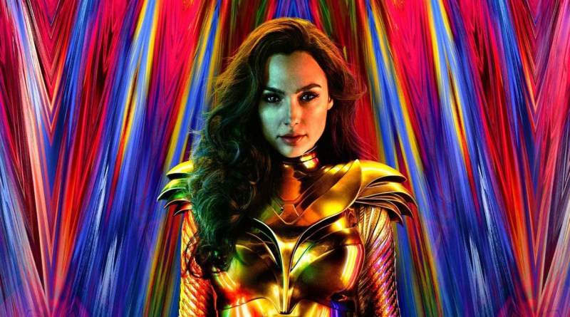 Psychedelic New Motion Poster for Wonder Woman 1984