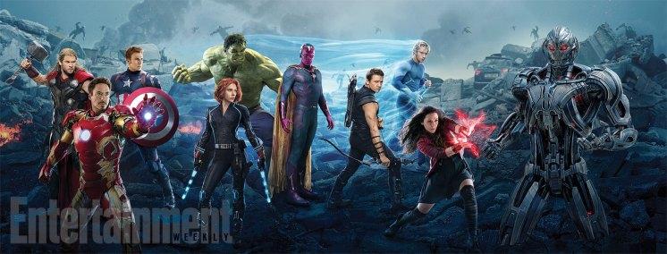 Risultati immagini per avengers age of ultron banner