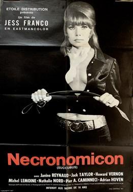 affiche originale du film necronomicon