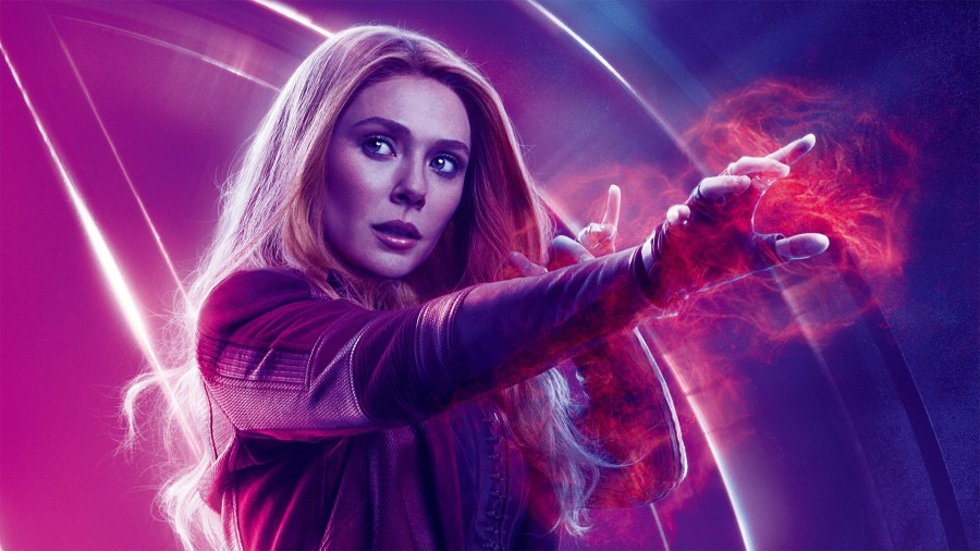 avengers endgame stills scarlet witch