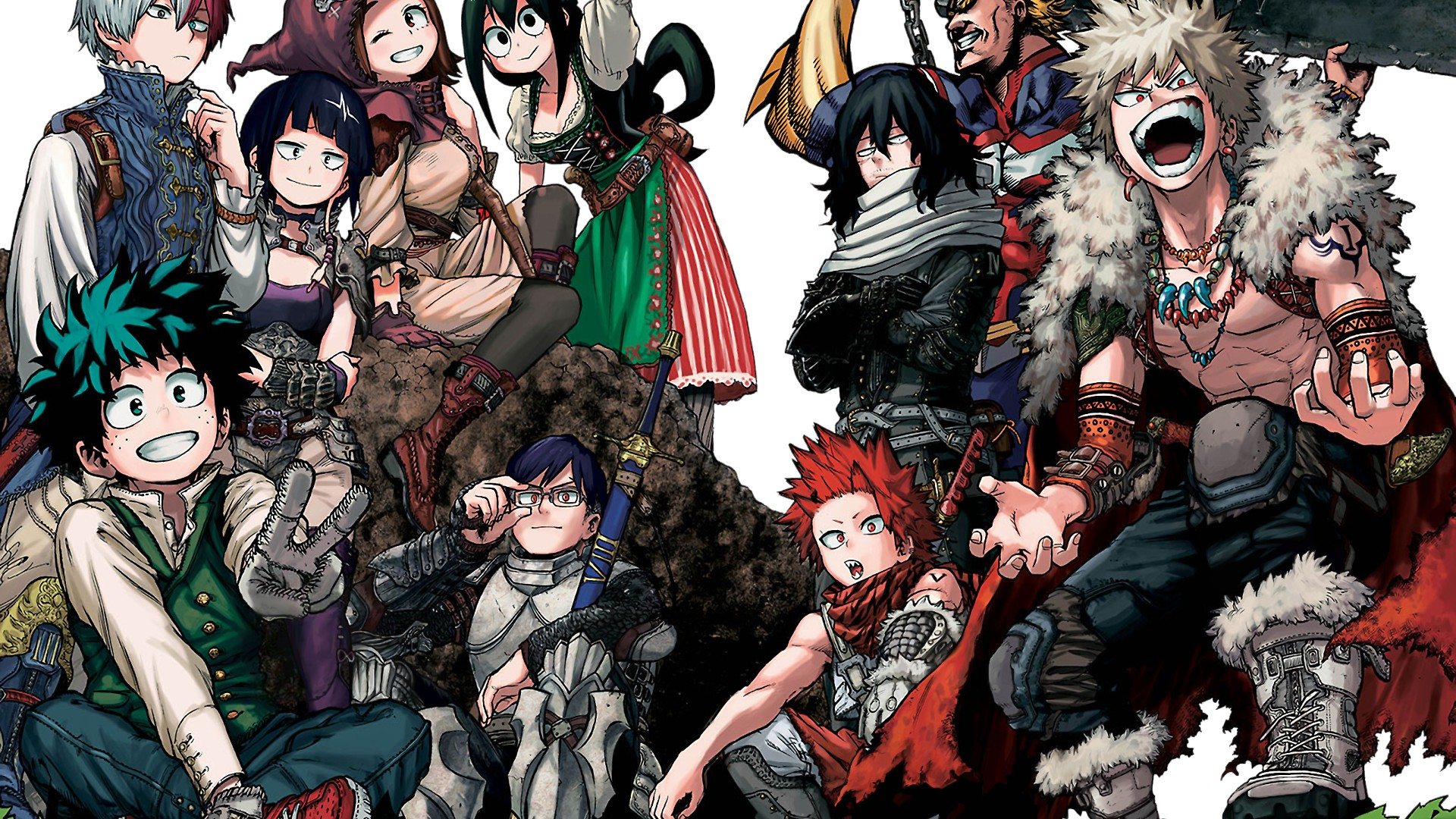 All wallpapers are in hd and. My Hero Academia Poster HD Wallpaper | 2021 Movie Poster ...