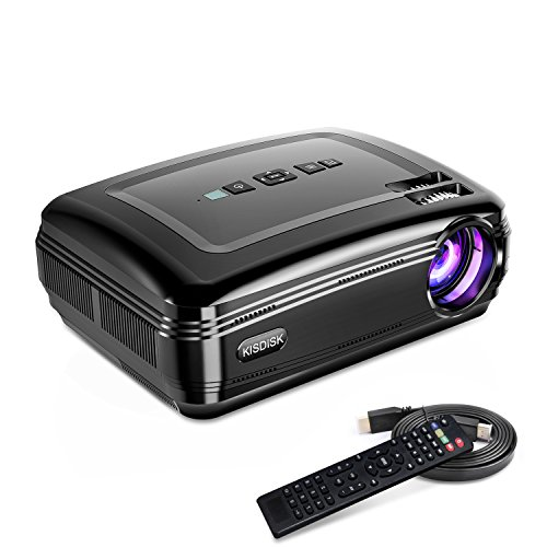 Overhead Projector, KISDISK Home Theater Video Projector