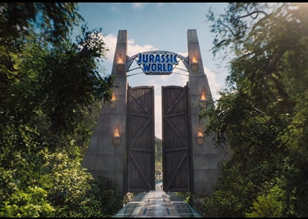 Jurassic World Entrance Audio Atmosphere