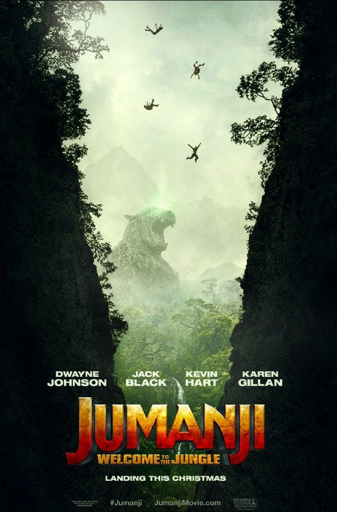 Jumanji: Welcome to the Jungle 2017 Full Movie Download For Free