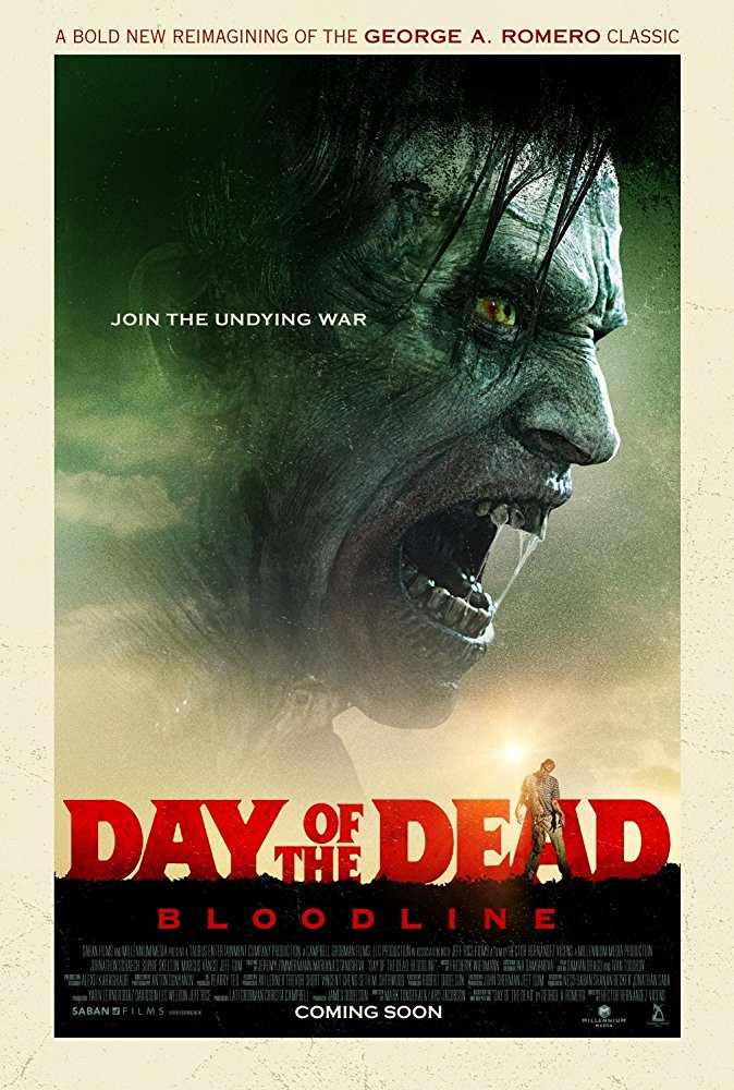 Day of the Dead: Bloodline 2018 Full Movie Download For Free