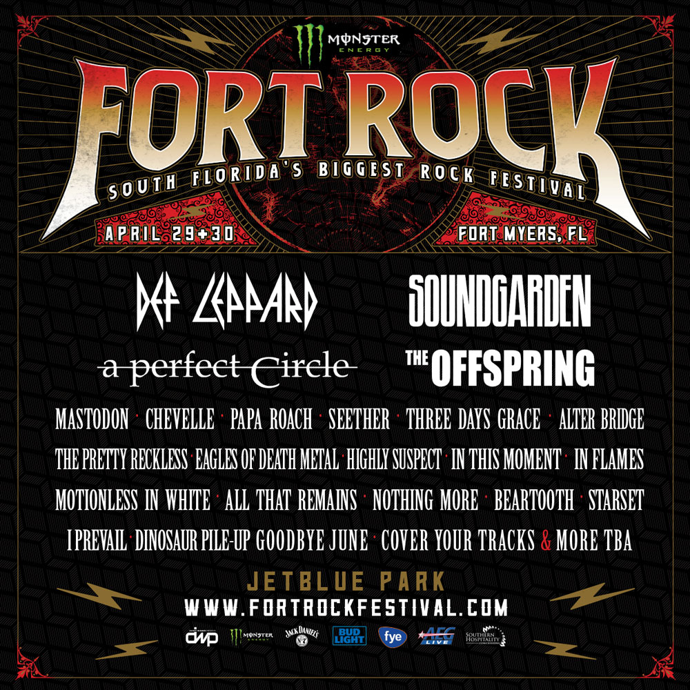 fort rock festival announces 2017 lineup featuring def. Black Bedroom Furniture Sets. Home Design Ideas