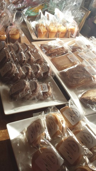 Selection of packaged goodies for the taking