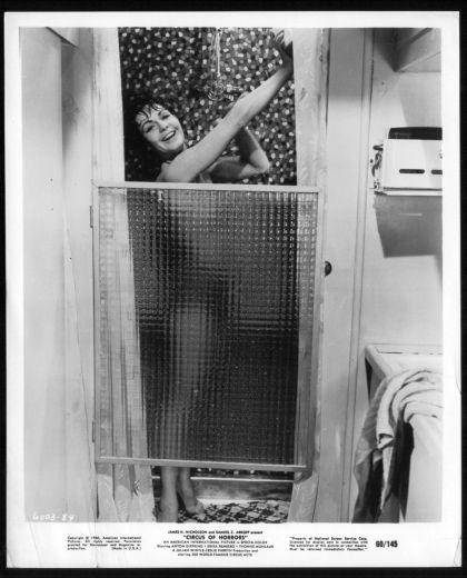 circus of horrors shower scene