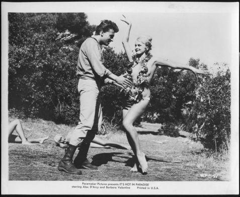 It's-Hot-in-Paradise-1962-b:w-still-dancing-girl