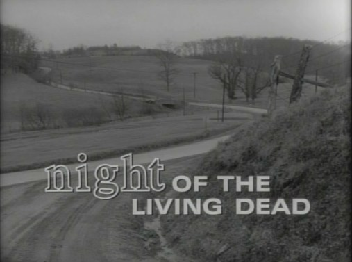 night of the living dead title screenshot