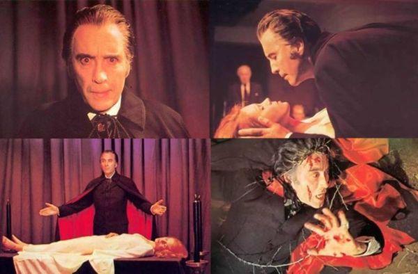 satanic rites of dracula christopher lee four shots