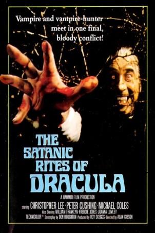 satanic rites of dracula christopher lee hawthorn bush poster