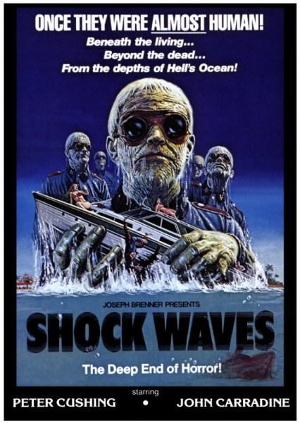 shock waves joseph brenner peter cushing poster