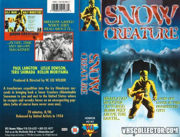 snow-creature-vci-vhs