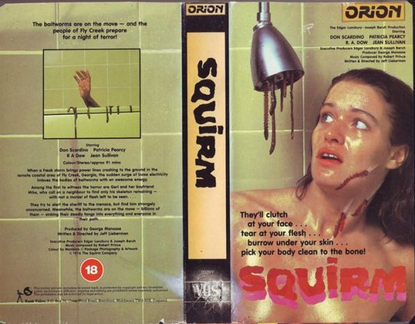 squirm jeff liberman orion british vhs sleeve