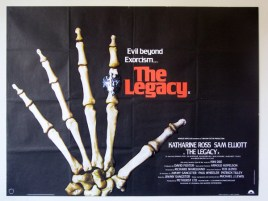 The Legacy UK quad poster