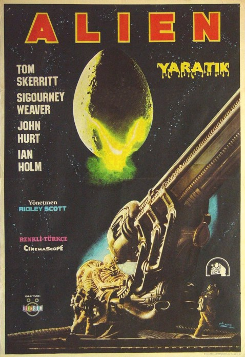 alien turkish poster