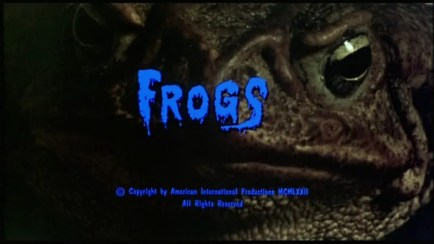 frogs title screenshot