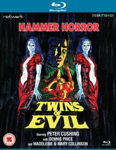 Twins of Evil Network Blu-ray