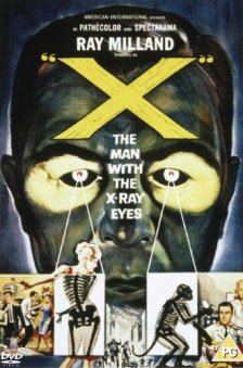 X Man with X-ray Eyes DVD
