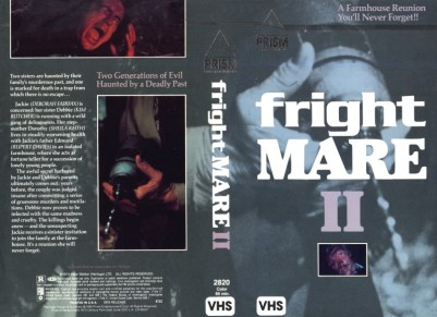 frightmare ii vhs front & back3