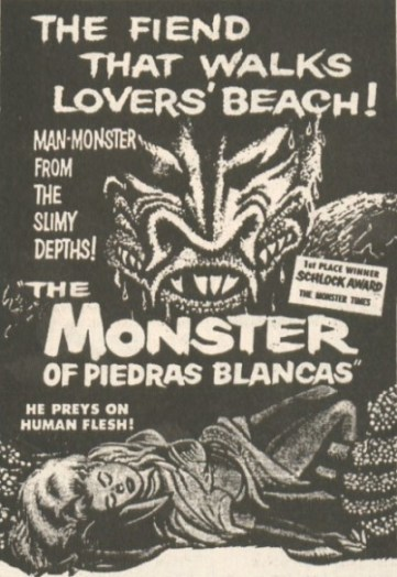 monster of piedras blancas ad mat2